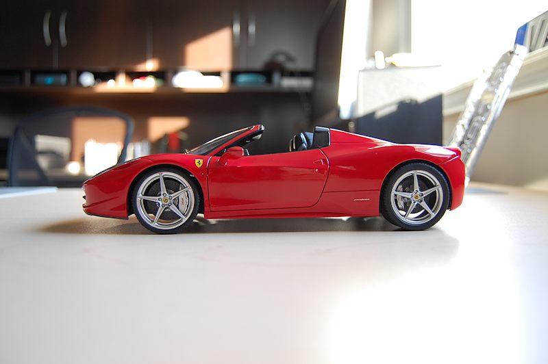 Review Hot Wheels Elite Ferrari 458 Italia Spider