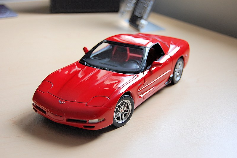 autoart 1:18 chevrolet corvette c5