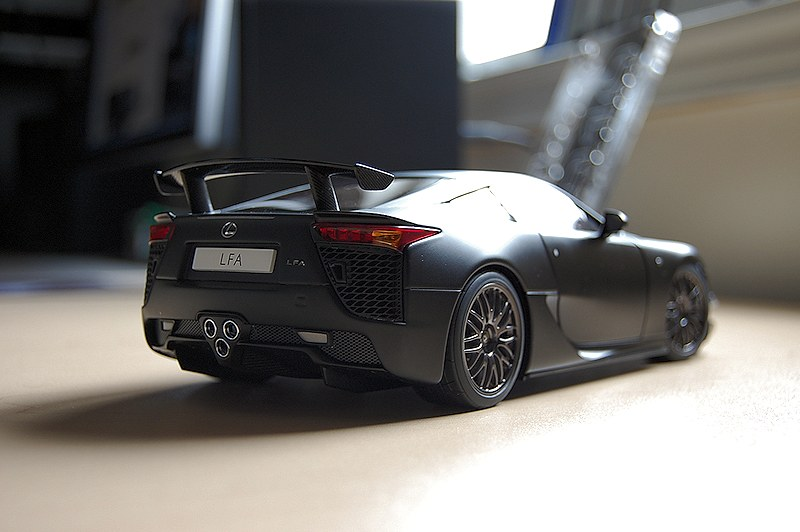 review autoart lexus lfa nurburgring. Black Bedroom Furniture Sets. Home Design Ideas