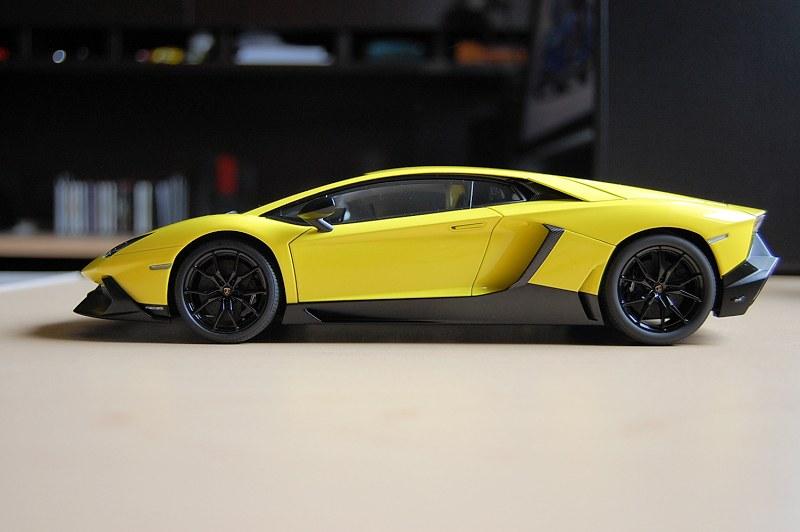 Review Autoart Lamborghini Aventador Lp720 4 50