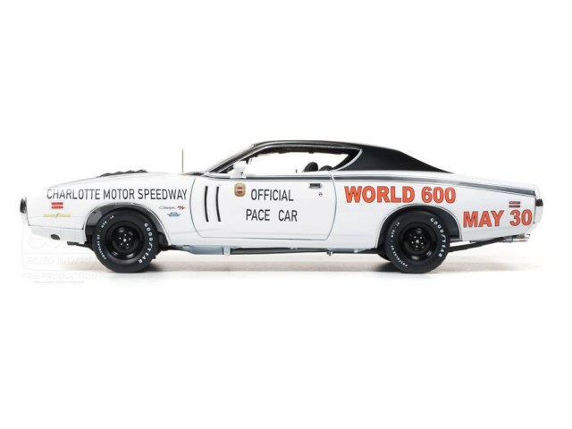 ... Auto World 1:18 1971 Charger World 600 Pace Car • DiecastSociety.com