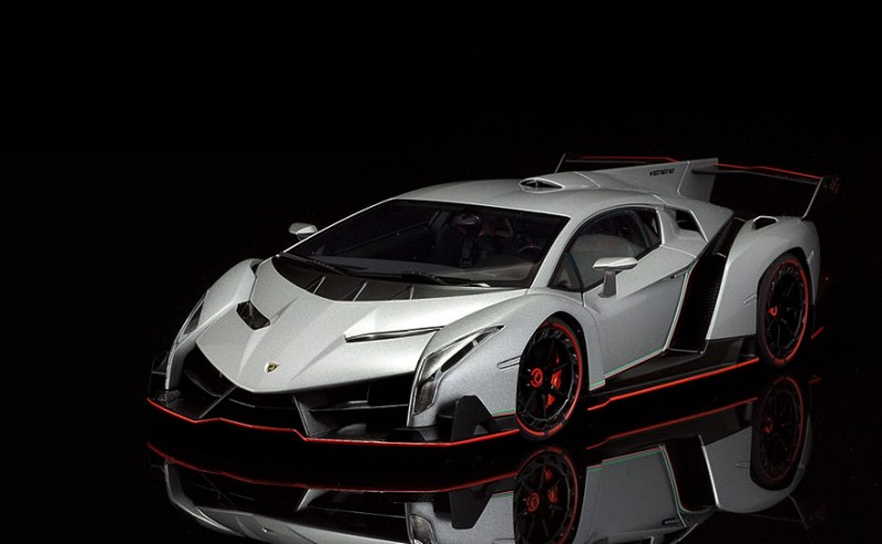 review autoart lamborghini veneno lp750 4. Black Bedroom Furniture Sets. Home Design Ideas