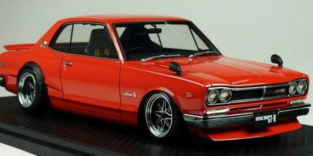 ignition models new 1 18 nissan skyline 2000 gt r. Black Bedroom Furniture Sets. Home Design Ideas