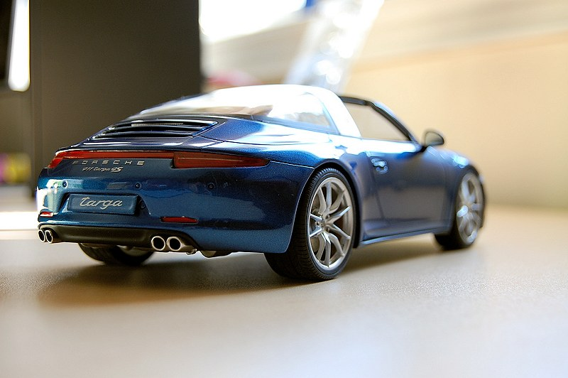 REVIEW: GT Spirit Porsche 911 Targa 4S (991) • DiecastSociety.com