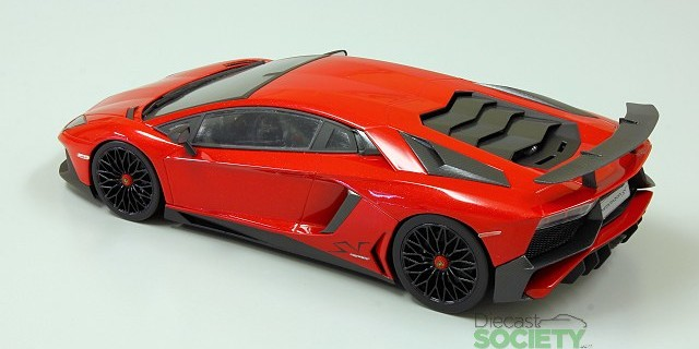 First Look Kyosho Ousia New Lamborghini Aventador Sv