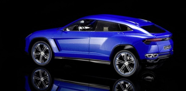 review model car group lamborghini urus concept - Lamborghini Urus Blue