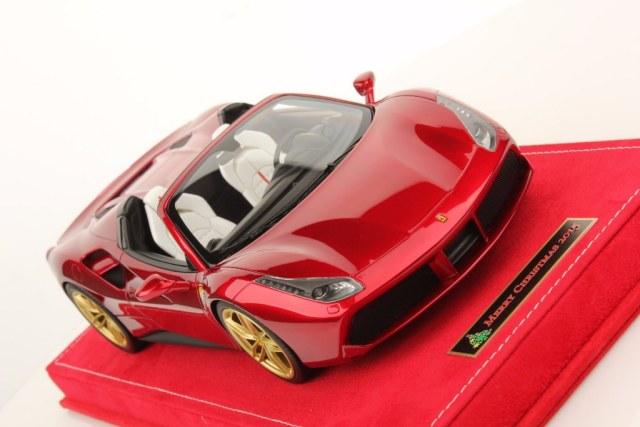 Mr collection christmas inspired ferrari 488 spider for Ferrari christmas
