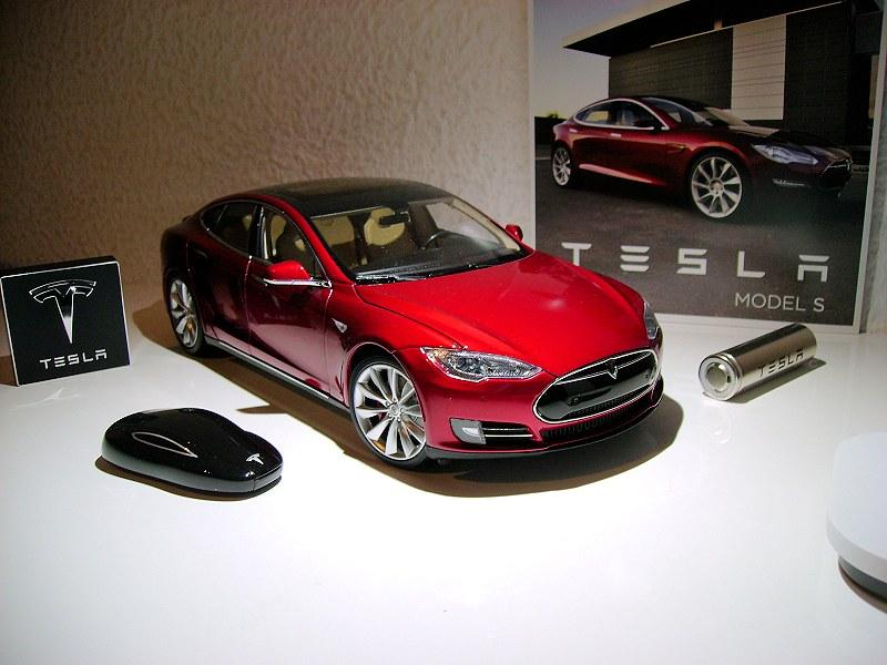 Tesla Model S Diecast Car