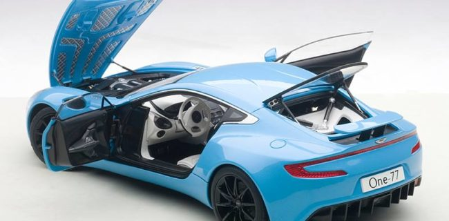Great AUTOart Aston Martin One 77 U2013 Tiffany Blue