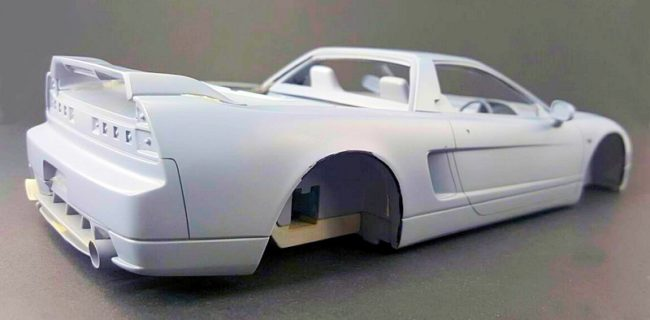First Look One Model Honda Nsx
