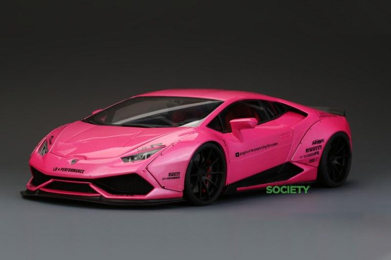 hobbydesign lb lamborghini huracan hot pink
