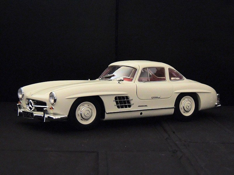 Review minichamps 1954 mercedes benz 300 sl gullwing for 1954 mercedes benz 300sl