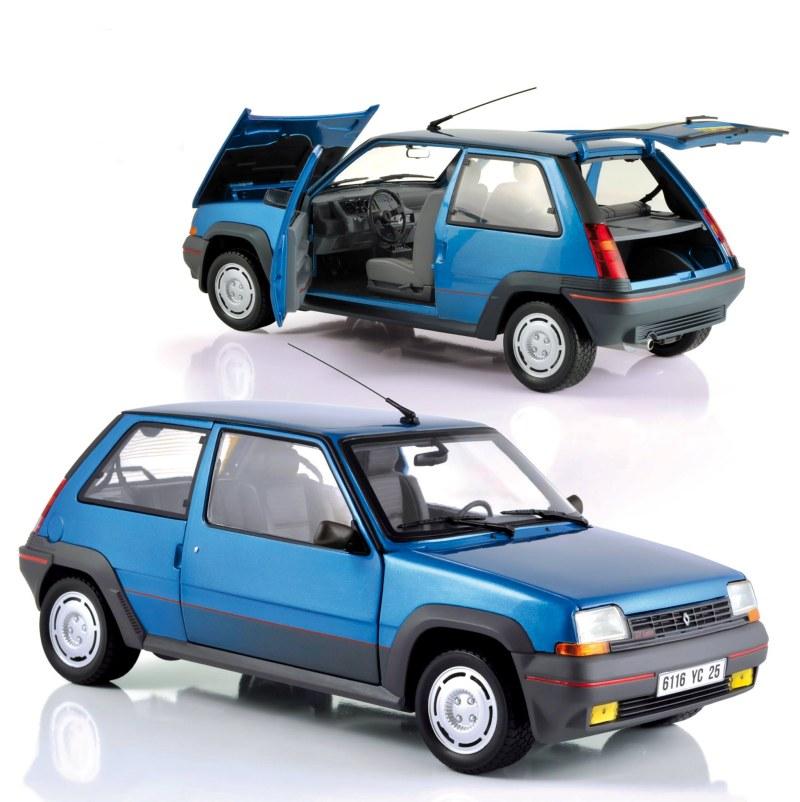 norev 1 18 renault superacinq gt turbo 1985 blue alpine. Black Bedroom Furniture Sets. Home Design Ideas