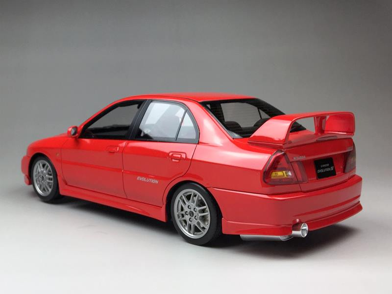 2016 Lancer Evolution >> One Model Ltd. Mitsubishi Lancer EVO IV • DiecastSociety.com