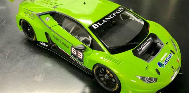 autoart new lamborghini huracan gt3 race livery. Black Bedroom Furniture Sets. Home Design Ideas