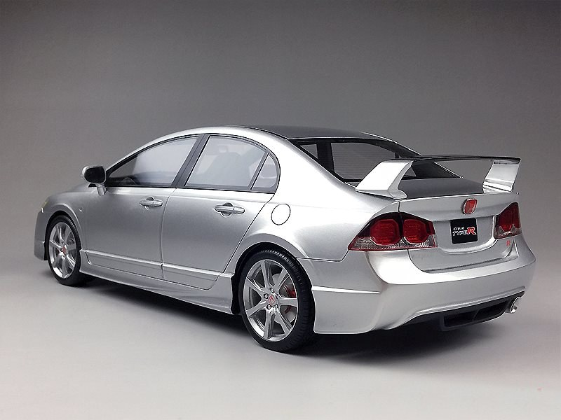 First Look: One Model Honda Civic Type R FD2 Late Version • DiecastSociety.com