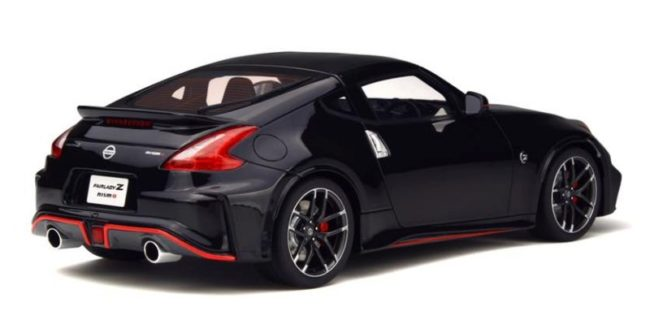 The Gt Spirit Asian Ortment Grows By One New 1 18 Nissan Fairlady Z Nismo Is Crafted In An Exclusive Black Exterior She Does Look Sharp