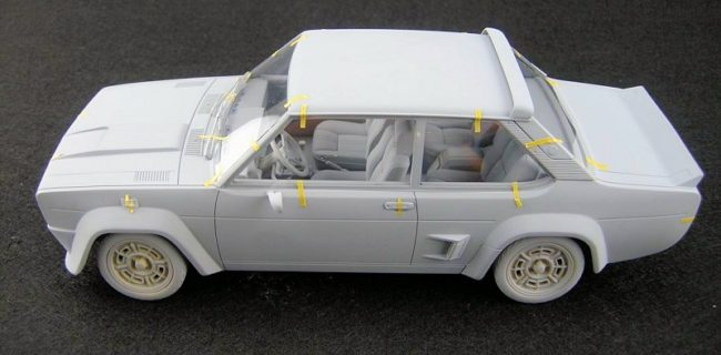 First Look: Laudoracing-Models Fiat 131 Abarth • castSociety.com