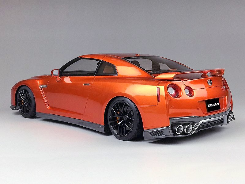 one model nissan gtr r35 2017. Black Bedroom Furniture Sets. Home Design Ideas