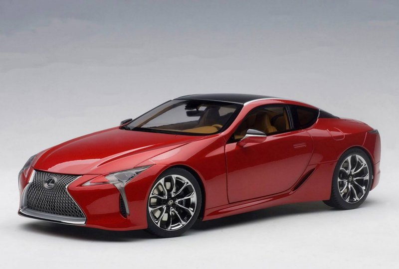 First Look Autoart New Lexus Lc500 Updated