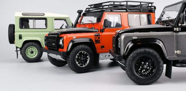 Review Defender Of The Crown Kyosho S Land Rover Trio