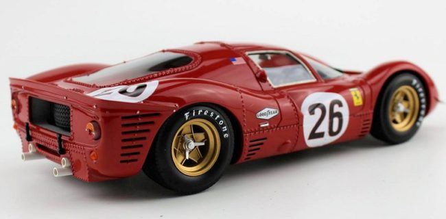 gp replicas ferrari 330 p4 daytona 1967 decorated sample. Black Bedroom Furniture Sets. Home Design Ideas