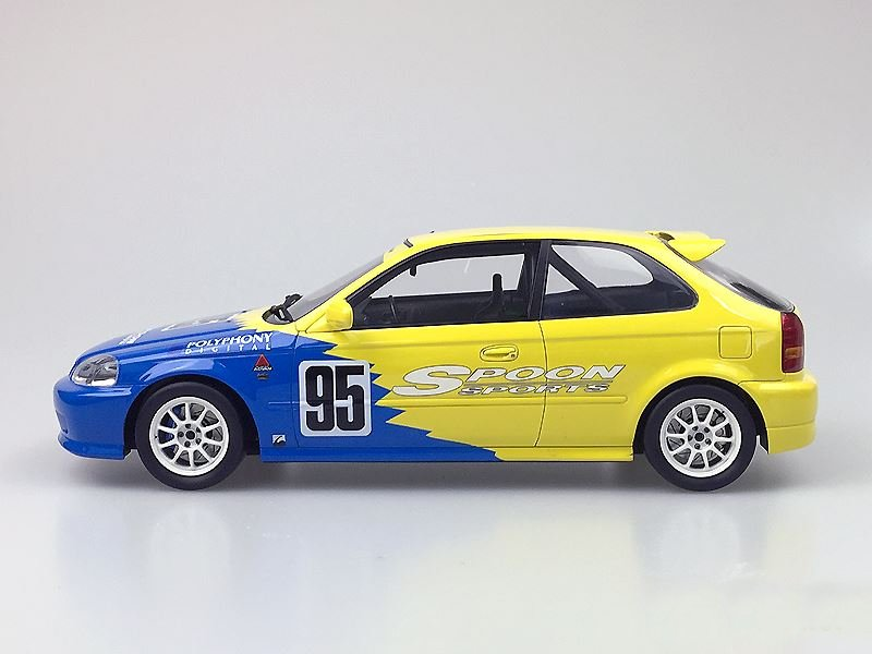 One model honda civic ek9 spoon racing for Honda civic ek9