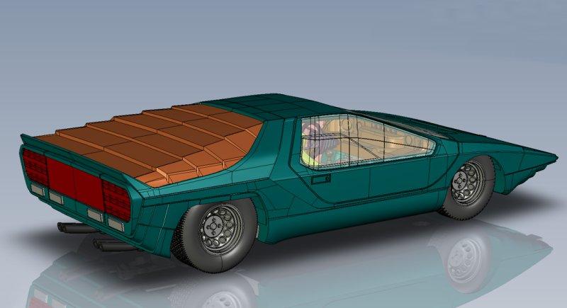 Lr Alfa Romeo Bertone