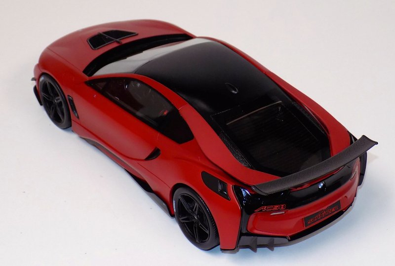 ... Resin, BMW I8 AC Schnitzer Tuned Edition In Red With Black Trim. Car Is  Shown In Prototype Form, AutoBarn Claims Enchantments Are In The Works.