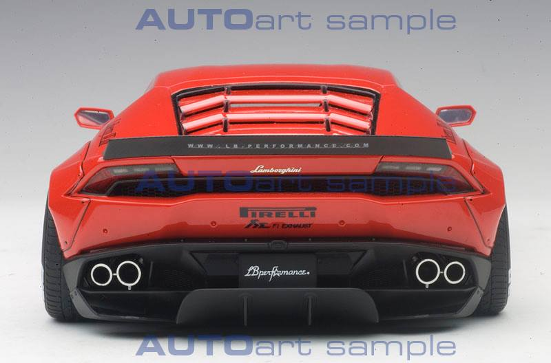 Autoart Announces The 1 18 Liberty Walk Lamborghini Hurcan