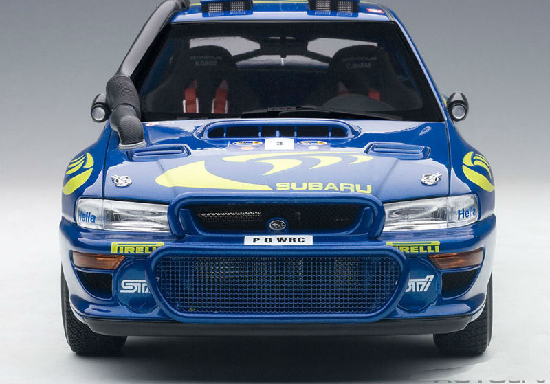 autoart new subaru impreza wrc 1997 3 mcrae grist. Black Bedroom Furniture Sets. Home Design Ideas