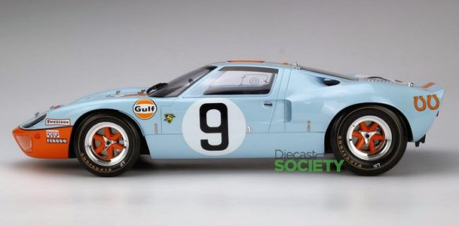 Classic Model Replicars Is Releasing Their Version Of The Ford Gt  Mk I Gulf As It Raced And Won At Le Mans In  This Model Is Crafted In  Scale