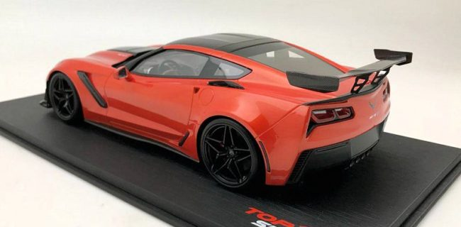 First Look: TopSpeed 2018 Chevrolet Corvette ZR1 • DiecastSociety.com