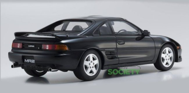 Another OttOmobile/Kyosho Collaboration Is Set To Hit The Market Soon. We  Have The 1:18, Resin Toyota MR2 In Black. The Model Is Based On The 1992  Platform.