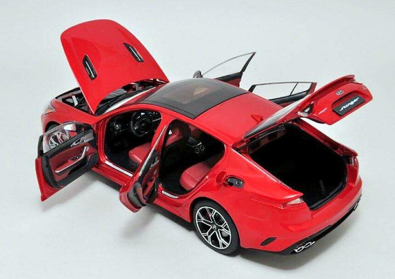 Kia For Sale >> MINIKRAFT New Kia Stinger • DiecastSociety.com
