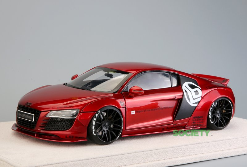 Auto-Customed Model LB/Audi R8 • castSociety.com