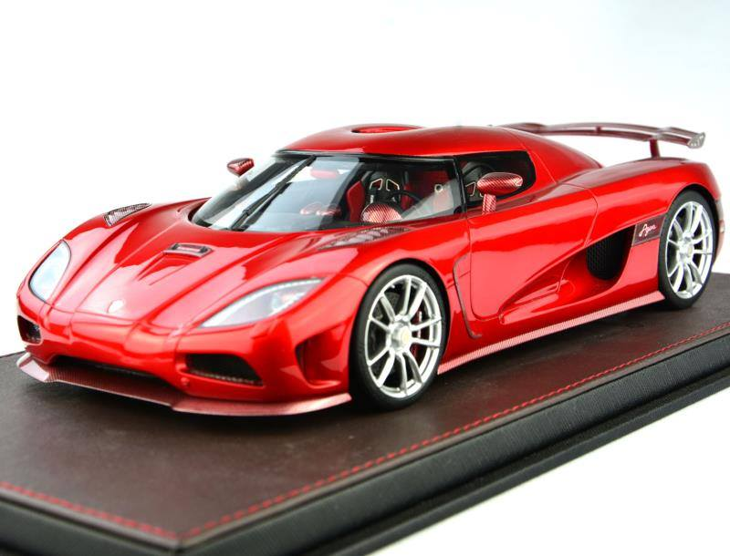 ... Koenigsegg Agera R. The Latest Release Is Candy Apple Red With Silver  Wheels. The Interior Is Matching Red With Black Accent Bits.