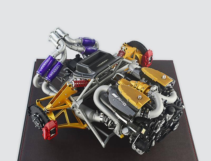 Fronti-Art Official 1:6 Pagani Huayra Engine • castSociety.com